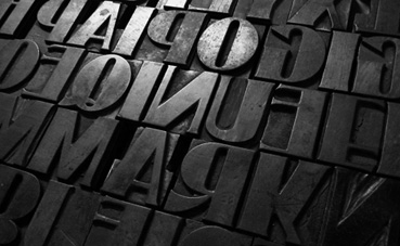 Woodtype font2